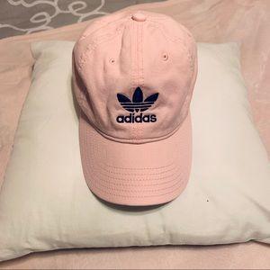 New Adidas Baby Pink Baseball Cap Hat